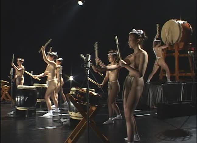 Girl drummers naked 3