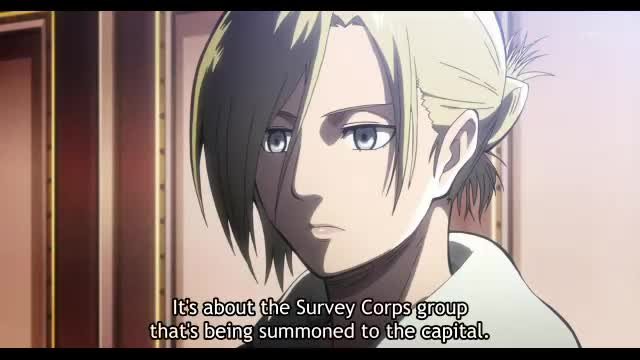 Attack On Titan Season 1 Episode 23 Smile Raid on Stohess District