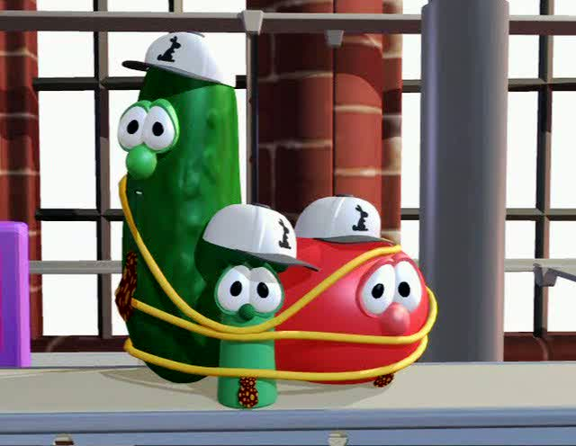 Veggie Tales 04 Rack Shack And Benny 1995 0 33 47